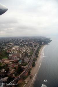 vue aérienne de LBV