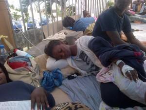 Etudiants en grève - Libreville - août 2014 - 1