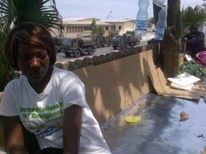 Etudiants en grève - Libreville - août 2014 - 2