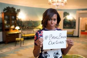 Michelle Obama soutient les filles au Nigéria