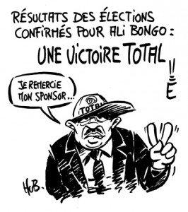 caricature Bongo