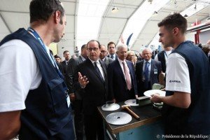 Le Bourget - Hollande